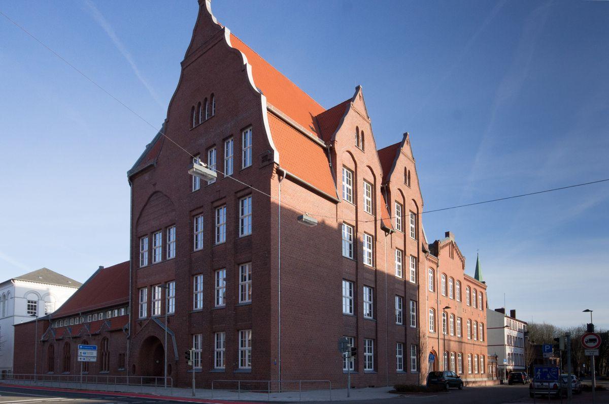 Grundschule Rheinstraße, Foto im Dezember 2013