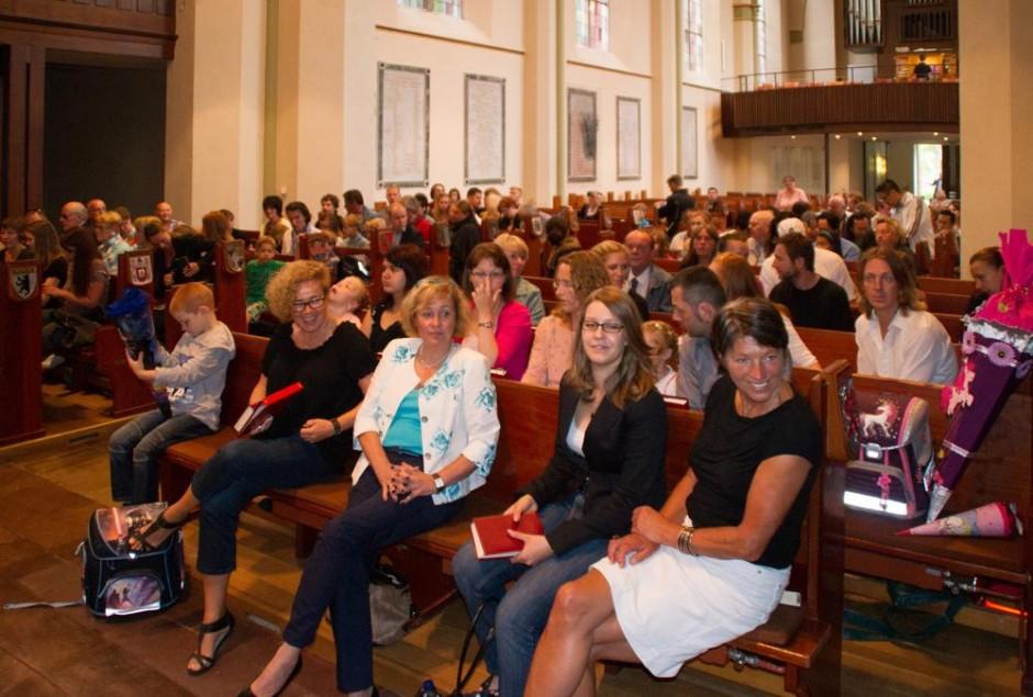 Einschulungsgottesdienst am 10.8.2013 in der Christus- und Garnisonkirche