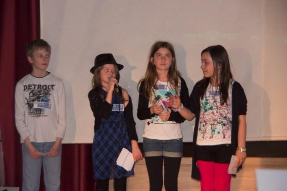 Die Moderation hatten die Radio-Kinder übernommen: Aaron, Jana, Alina und Xenia