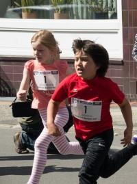 Kinderlauf - Caetano und Jette