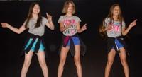Madina, Jessica und Alije haben diesen Tanz selbst einstudiert