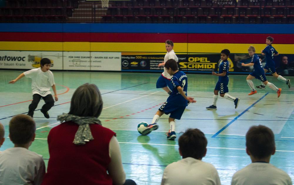 Spiel gegen die Grundschule Sengwarden
