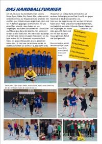 Das Handballturnier