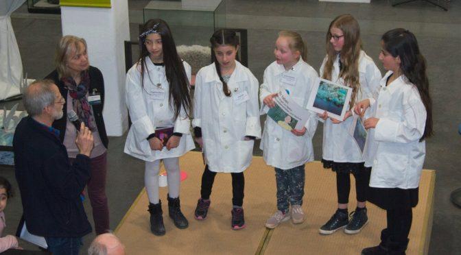 Mädchenpower im Wattenmeer Besucherzentrum